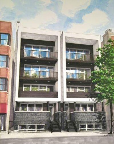 Condo/Townhouse For Sale: 925 North Damen Avenue #1