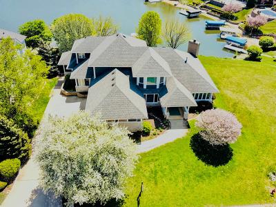 Plainfield Single Family Home Price Change: 22721 Marina Drive