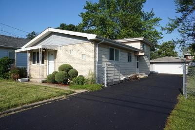 Oak Forest Single Family Home For Sale: 16204 Oak Avenue