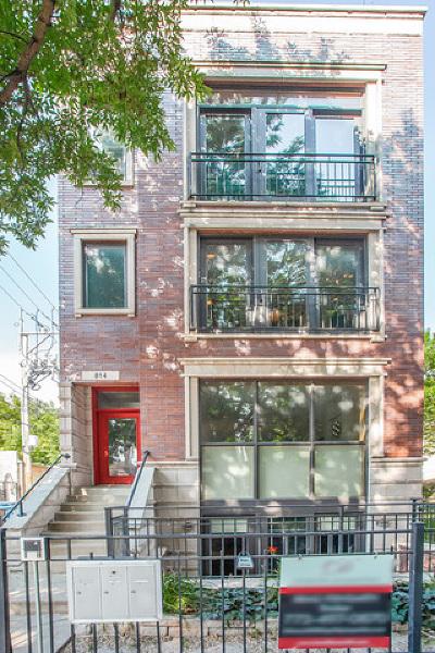 Condo/Townhouse For Sale: 814 North Winchester Avenue #2