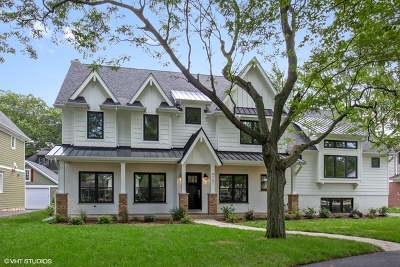 Western Springs IL Single Family Home For Sale: $1,350,000