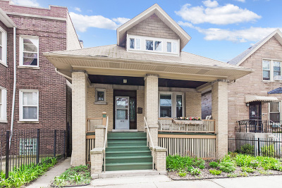 Single Family Home For Sale: 4453 North Bernard Street