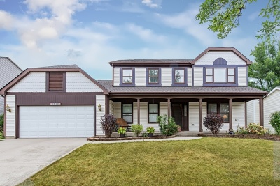 Schaumburg Single Family Home Contingent: 1712 Green River Drive