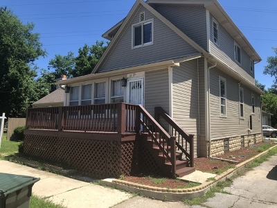 Dolton Single Family Home For Sale: 14329 Chicago Road