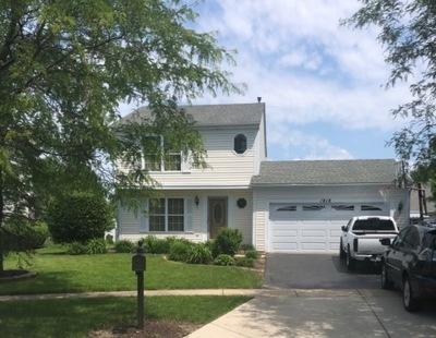 Carpentersville Single Family Home For Sale: 1818 Cambridge Drive