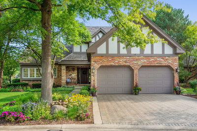 Burr Ridge Single Family Home For Sale: 13 Lake Ridge Club Court