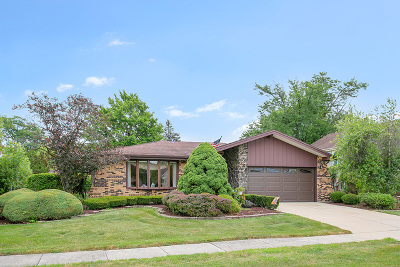 Orland Park Single Family Home For Sale: 14533 Maycliff Drive
