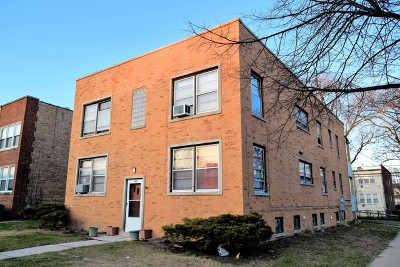 Skokie Multi Family Home For Sale: 9003 Bronx Avenue