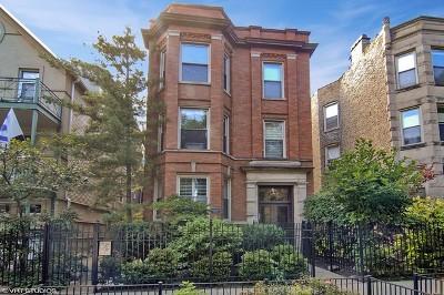 Condo/Townhouse For Sale: 3126 North Clifton Avenue #3