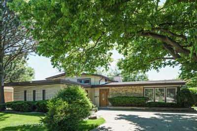 Wilmette Single Family Home For Sale: 543 Lavergne Avenue