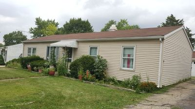 Romeoville Single Family Home For Sale: 435 Garland Avenue