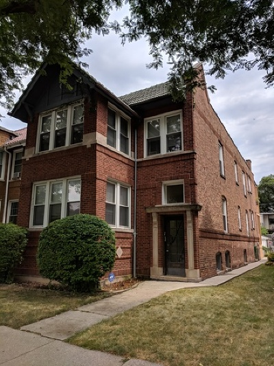 Oak Park Multi Family Home For Sale: 522 South Ridgeland Avenue
