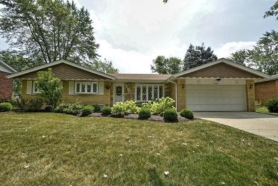 Orland Park Single Family Home For Sale: 8547 Fir Street
