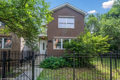 Cook County Single Family Home For Sale: 1309 South Keeler Avenue