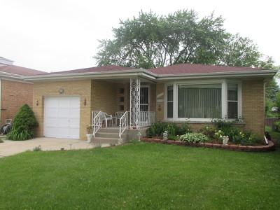 Skokie Single Family Home Contingent: 8433 Trumbull Avenue