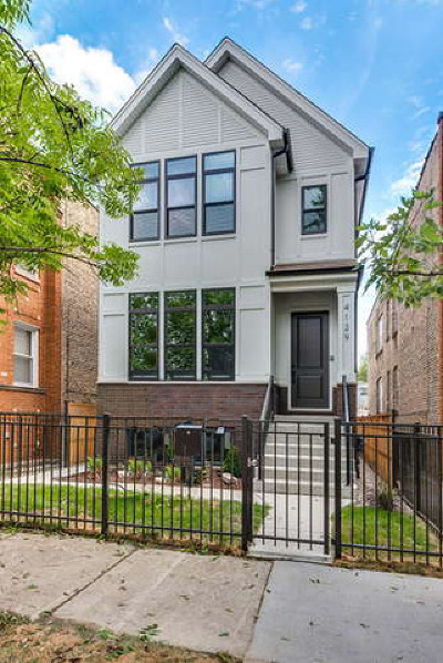 Single Family Home For Sale: 4129 North Troy Street