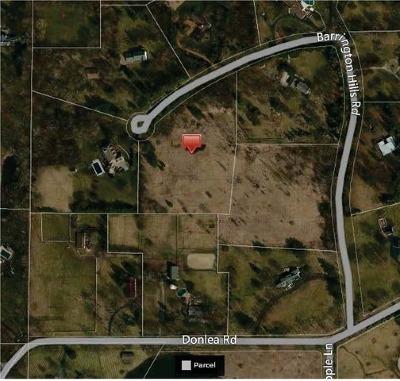 Barrington Hills Residential Lots & Land For Sale: 16 Barrington Hills Lot 9 Road
