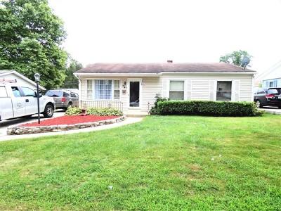 Hanover Park Single Family Home For Sale: 1741 Sycamore Avenue