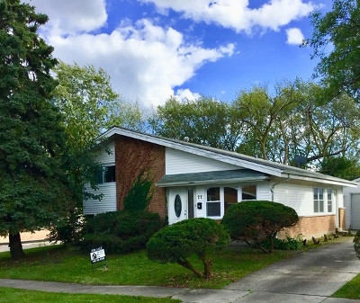 Park Forest Single Family Home For Sale: 77 Water Street