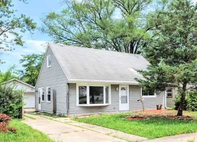 Park Forest Single Family Home For Sale: 268 Arcadia Street
