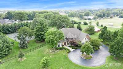 Naperville IL Single Family Home New: $1,599,000