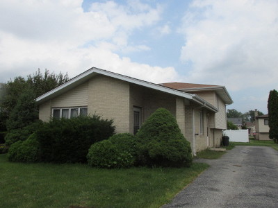 Alsip  Single Family Home For Sale: 12021 South Prairie Drive