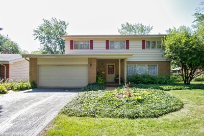 Flossmoor Single Family Home For Sale: 3722 Cherry Hills Drive