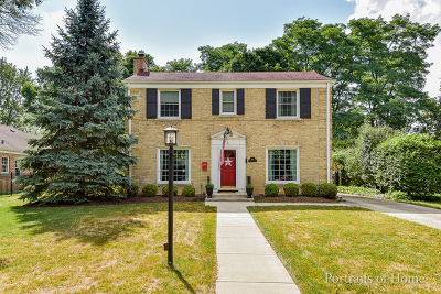 Wheaton Single Family Home For Sale: 808 North President Street