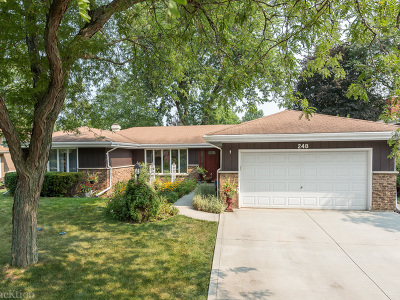 Westmont Single Family Home For Sale: 248 James Drive