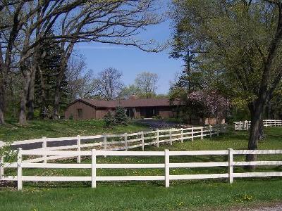 Mc Henry County Single Family Home New: 10814 Bull Valley Road