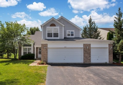 Carpentersville Single Family Home Price Change: 2421 Meadowsedge Lane