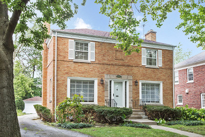 Flossmoor Single Family Home For Sale: 2321 Macdonald Lane