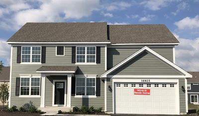Plainfield Single Family Home New: 16908 South Callie Drive