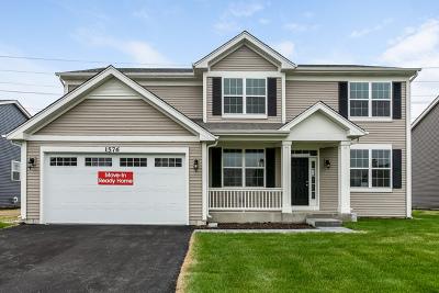 Plainfield Single Family Home New: 16926 South Callie Drive