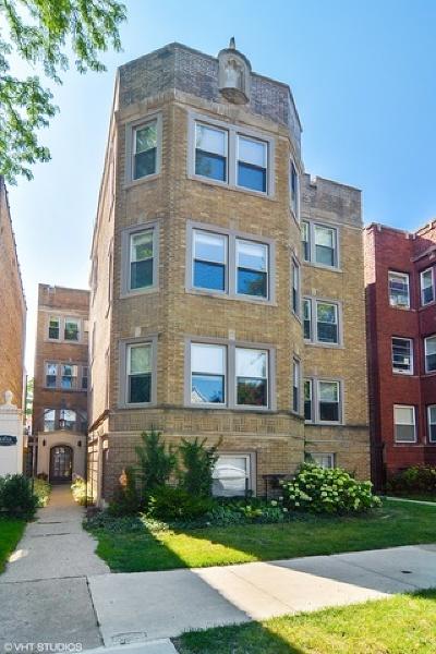 Condo/Townhouse For Sale: 4850 North Oakley Avenue #2F