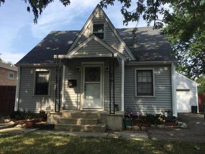 Melrose Park Single Family Home For Sale: 2128 Hawthorne Avenue