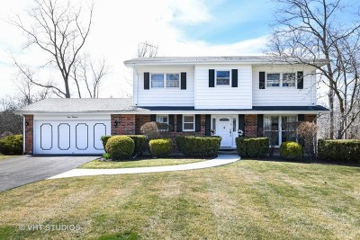 Highland Park Single Family Home For Sale: 100 Hiawatha Trail