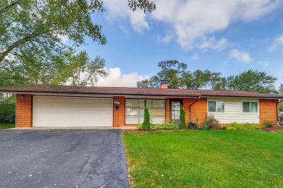 Hoffman Estates Single Family Home For Sale: 120 Pleasant Street