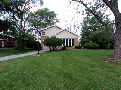 Flossmoor Single Family Home For Sale: 1022 Braemar Road