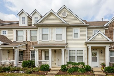 Plainfield Condo/Townhouse For Sale: 24702 George Washington Drive