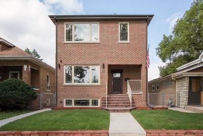 Chicago Single Family Home New: 2432 North Neva Avenue