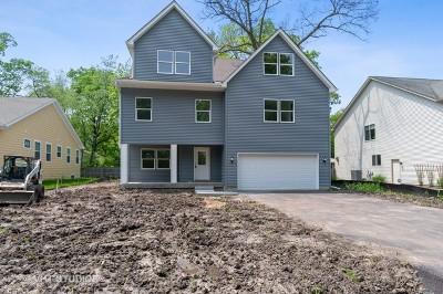 Round Lake Single Family Home New: 34466 North Hickory Lane