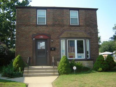 Calumet City Single Family Home New: 131 Elizabeth Street