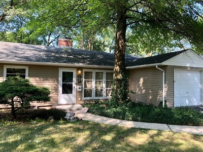 Park Forest Single Family Home New: 208 Marquette Street