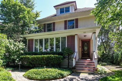 Wilmette Single Family Home For Sale: 921 Greenwood Avenue