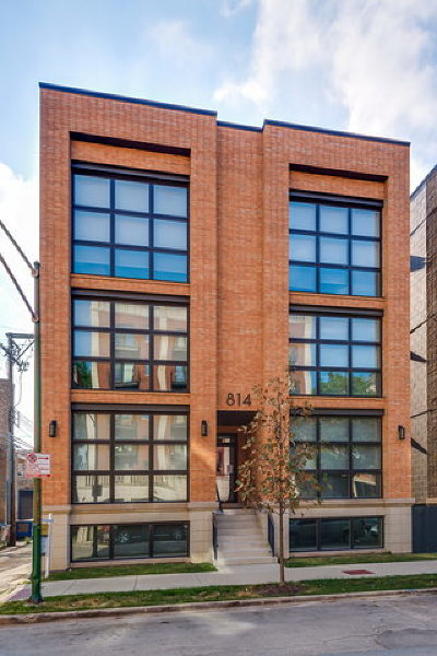 Chicago Condo/Townhouse New: 814 North Marshfield Avenue #3S