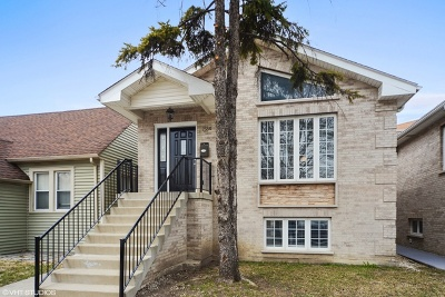 Chicago Single Family Home New: 7550 West Forest Preserve Avenue