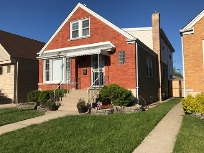 Chicago Single Family Home New: 4525 North Narragansett Avenue