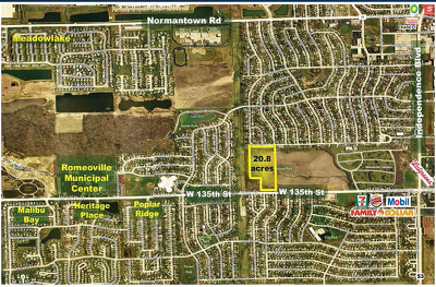 Romeoville Residential Lots & Land For Sale: 200 West Romeo Road