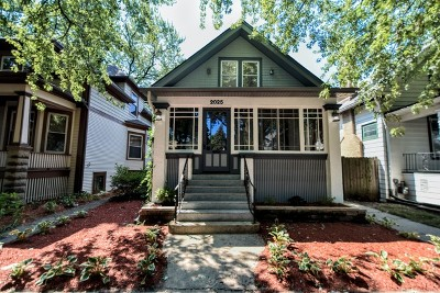 Chicago Single Family Home New: 2025 West Chase Avenue
